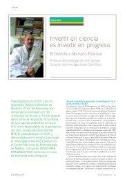 Invertir en ciencia es invertir en progreso - Centro Nacional de ...