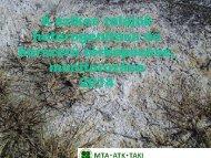 A szikes talajok heterogenitása és korszerű térképezése ...