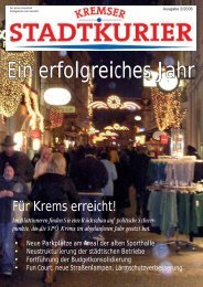 Ein erfolgreiches Jahr - SPÖ Stadtorganisation Krems