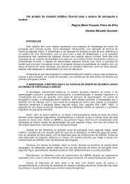 Um projeto de material didático flexível para o ensino de português ...