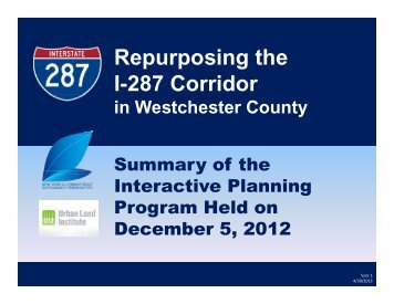 Section 11.15: Repurposing the I-287 Corridor - Sustainable NYCT