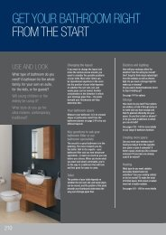 GeT YoUR BaTHRooM RIGHT FRoM THe sTaRT - Travis Perkins