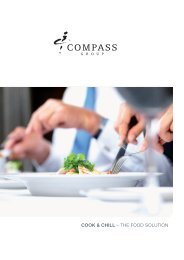 Cook & Chill – The Food SoluTion - Compass Group