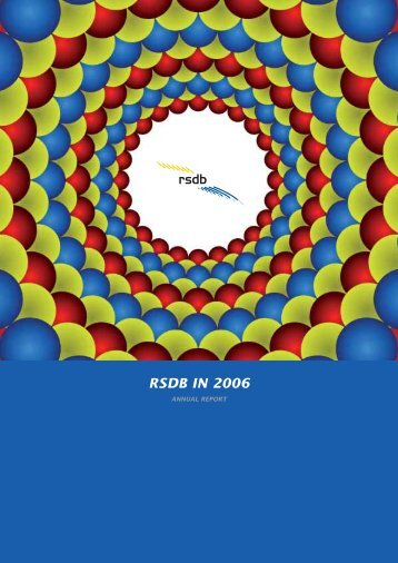 Full RSDB annual report for 2006 - RSDB NV