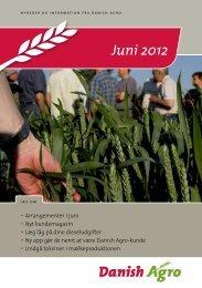 11.06.2012: Læs nyhedsbrevet for juni måned ... - Danish Agro