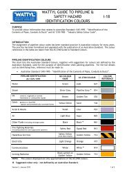 Guide to Identification of Pipeline Colours - Wattyl Web Customer ...