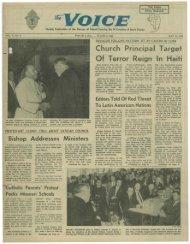 Church Principal Target Of Terror Reign In Haiti - E-Research