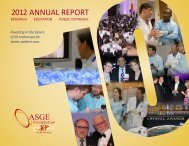 2012 Foundation Annual Report - American Society for ...