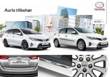 Auris tilbehør - Toyota