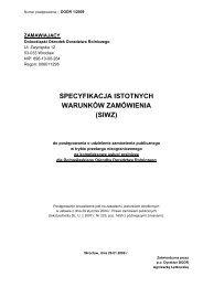 Pobierz SIWZ (PDF 157 kB) - Dolnośląski Ośrodek Doradztwa ...