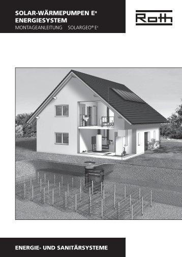 SOLAR-WÄRMEPUMPEN Ex ENERGIESYSTEM - Roth