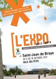 Plaquette Expo 2011-2012 - Ville de Saint Jean de Braye