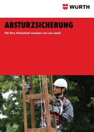 ABSTURZSICHERUNG - Würth