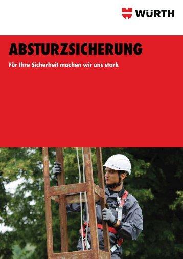 ABSTURZSICHERUNG - Würth