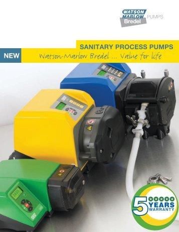 SANITARY PROCESS PUMPS - Watson-Marlow GmbH