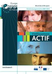 Zoom sur le Vieillissement Actif (FSE 2007-2013) - CRESS PACA