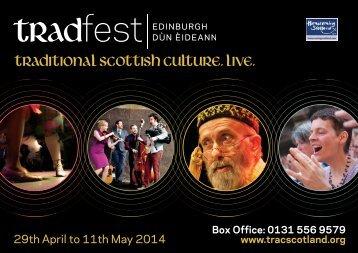 TradFest 2014 Programme