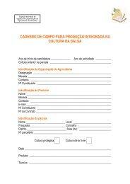 Caderno de Campo Salsa - Embrapa