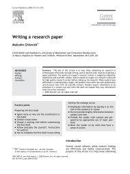 Writing a research paper - Carlosmello.unifei.edu.br