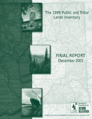 Final Report 2001 - Washington State Recreation and Conservation ...