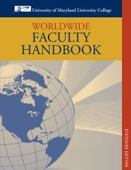Faculty Handbook_Stateside_v8_BB.indd - University of Maryland ...