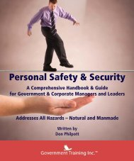 Excerpt from Personal Security and Safety - Introduction