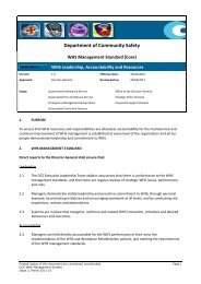 Department of Community Safety - Department of Emergency Services