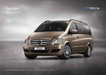 Viano Edition. - Mercedes-Benz