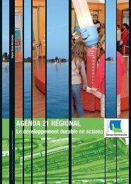 AGENDA 21 RÉGIONAL - Informetiers