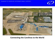 Connecting the Carolinas to the World