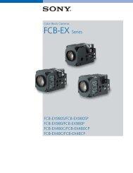 FCB-EX Series - Subtechnique, Inc.