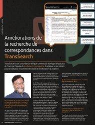 TransSearch - RALI - Université de Montréal