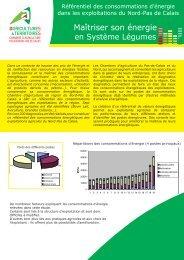 maîtriser son énergie production légumière - Chambre d'agriculture