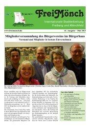 Ausgabe 41 - Bürgerverein Freiberg und Mönchfeld eV