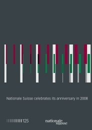Semi-Annual Report - Nationale Suisse Group