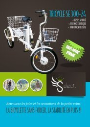 TRICYCLE SE 300-24 - Sofamed