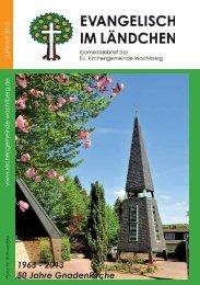 1963 - 2013 50 Jahre Gnadenkirche - Evangelische ...