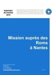 Rapport d'activité 2010 - Romeurope