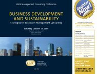 Conference Brochure - Canadian Association of Management ...