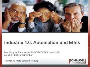 Industrie 4.0: Automation und Ethik - easyFairs