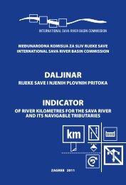 Daljinar rijeke Save i njezinih plovnih pritoka - International Sava ...