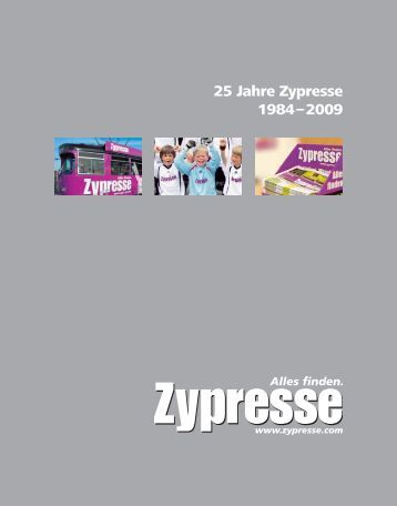 25 Jahre Zypresse 1984–2009