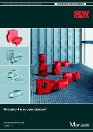 Riduttori e motoriduttori - SEW Eurodrive