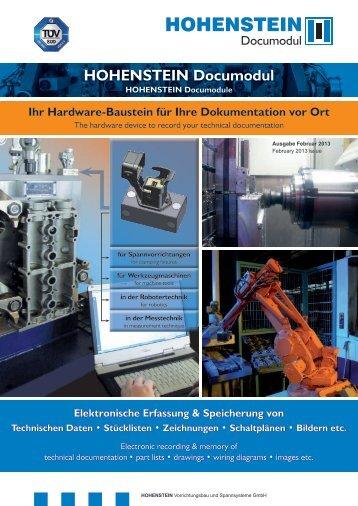 Documodul final.indd - Hohenstein-GmbH