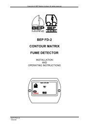 BEP FD-2 CONTOUR MATRIX FUME DETECTOR - Seatronic