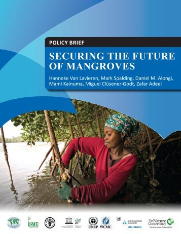 POLICY BRIEF Securing the future of mangroveS - PFBC