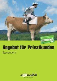 Angebot für Privatkunden - sana24 - Die