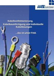 Kabelkonfektionierung, Kabelbaumfertigung und ... - WTK Elektronik