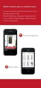 Rodenberg iPhone App Flyer - Seite 2