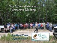 here - Plum Creek Watershed Partnership